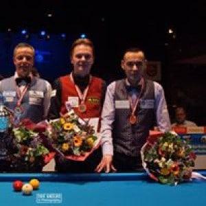 de nummer 2 en 3 finale Masters in Berlicum 2017